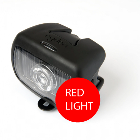 black rear Rydon Pixio bicycle light solar dutch design