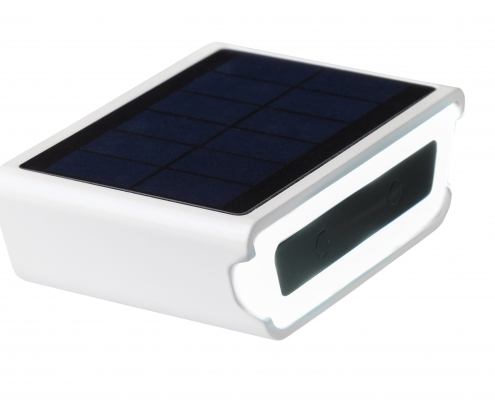 white front Rydon bicycle light solar dutch design